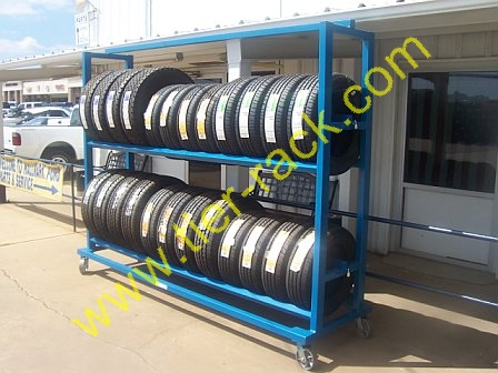 Perforated Decking For Tire Racks