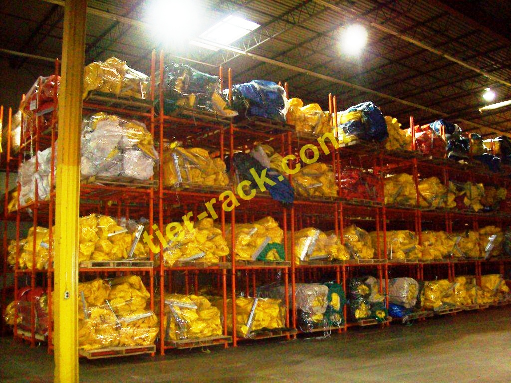 Use Your Whole Warehouse With Tier-Rack Racks