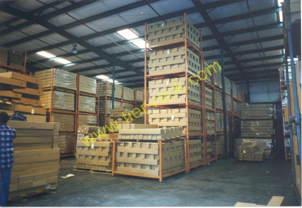 Stack Racks Organize Distribution Centers