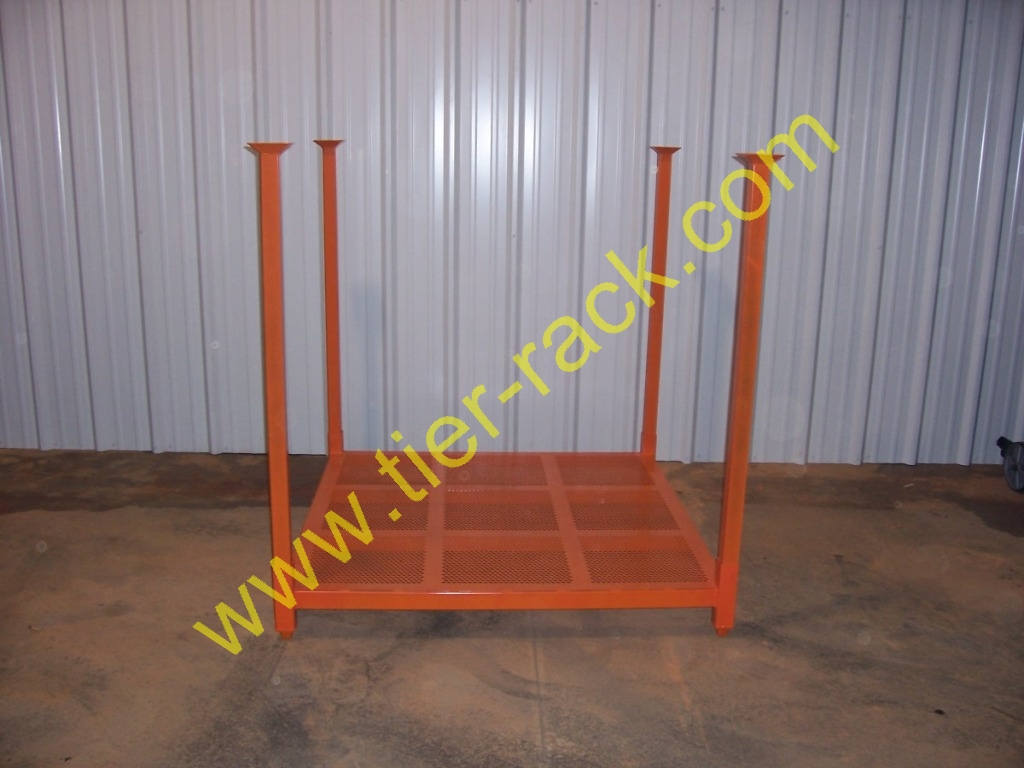 Need Warehouse Space?  Try Folding Tire Racks