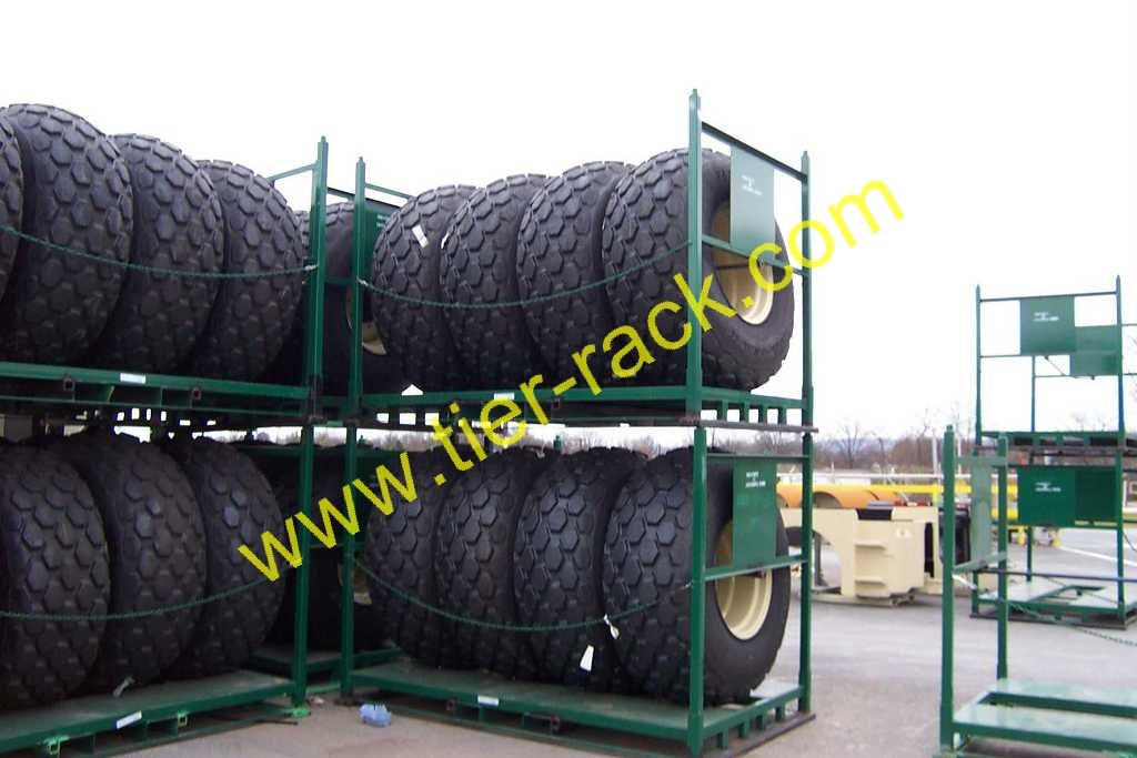 Agricultural Tire Racks For Your Farm or Farm Supply Store