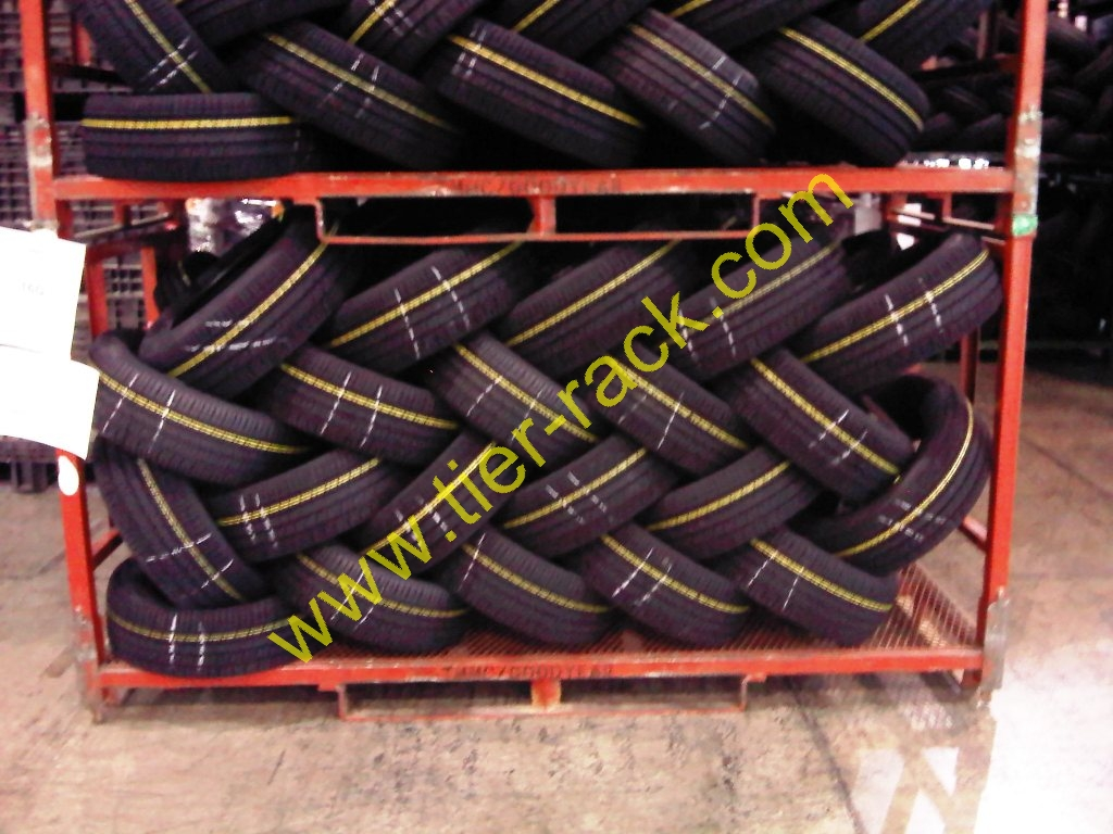 Tire lacing, Lacing racks