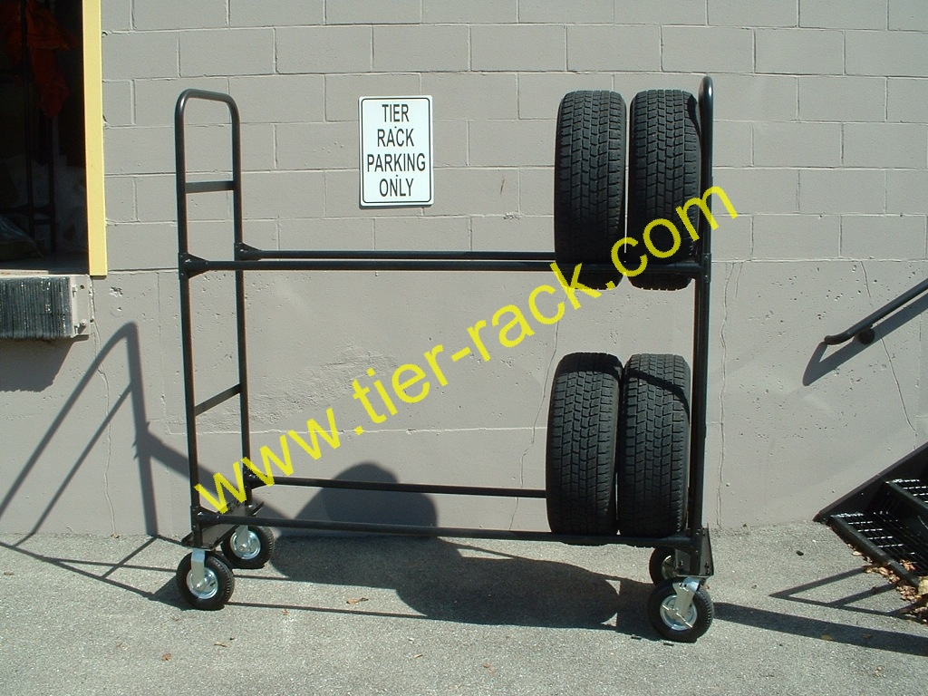 Custom Tire Racks For Your Warehouse