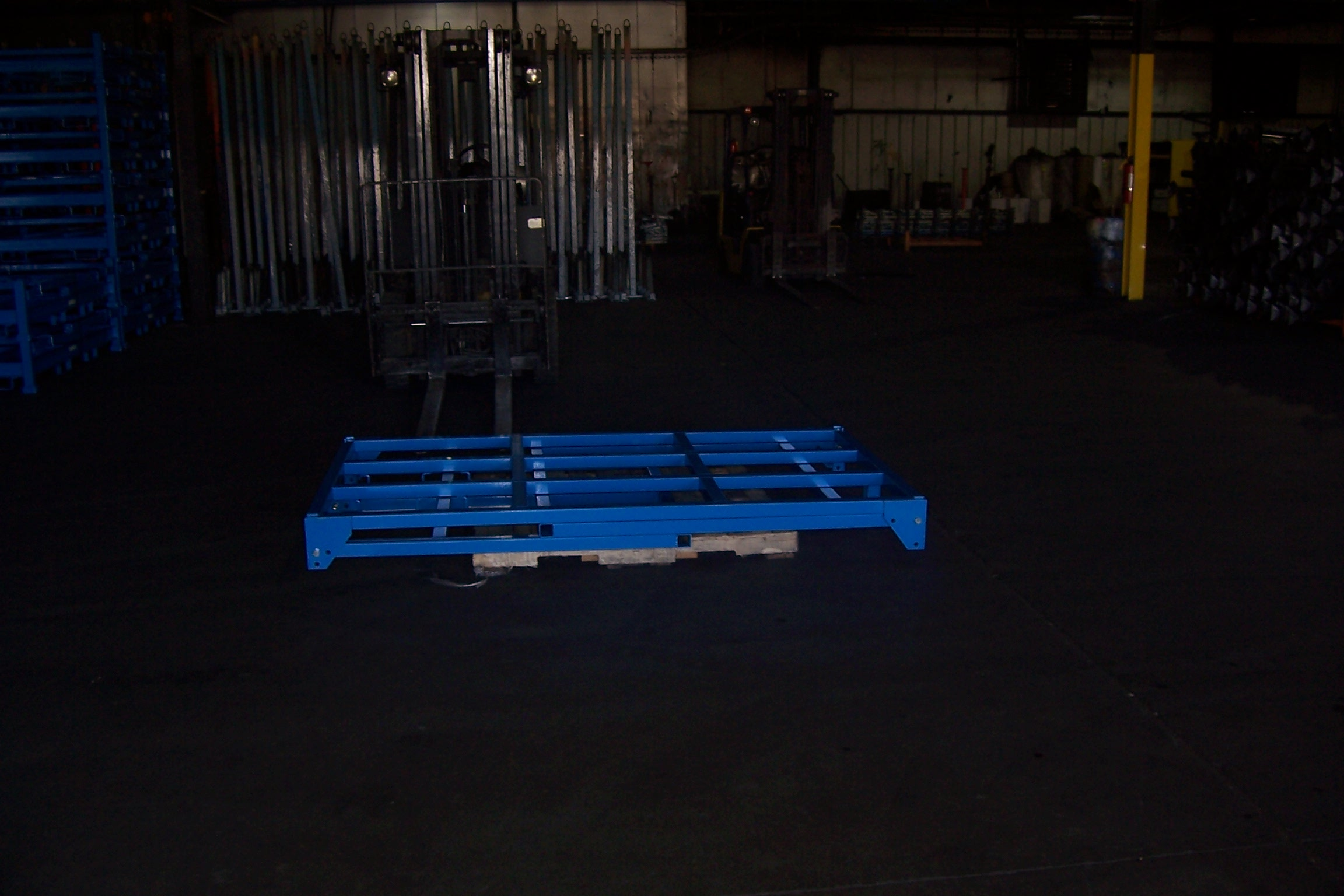 Truck Decking Tire Racks