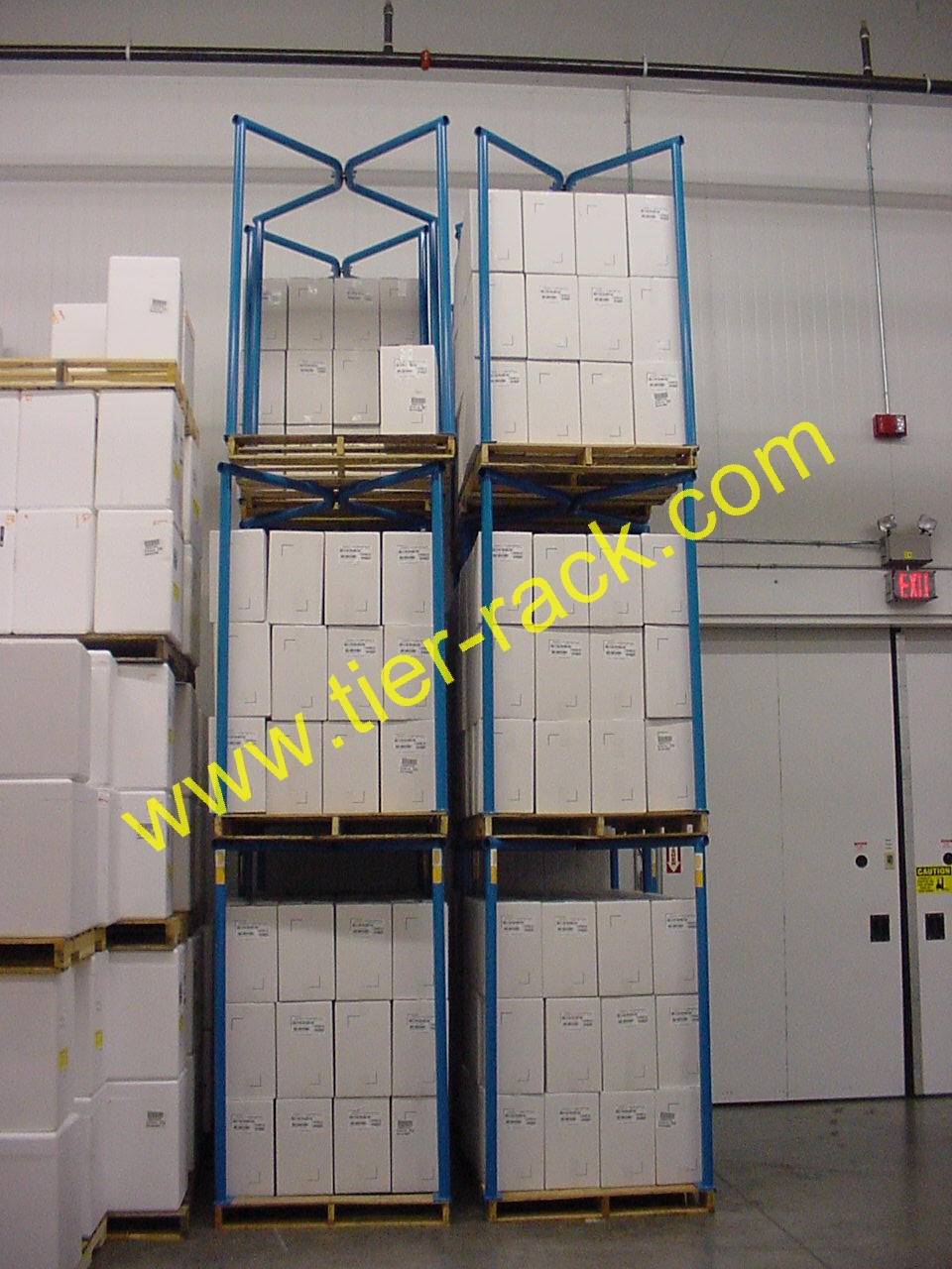 Why Buy Tier-Rack Pallet Stacking Frames?