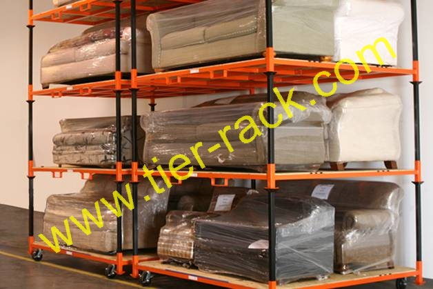 Movable Racks by Tier-Rack. Not just a want, but a need for warehouses and distribution centers.