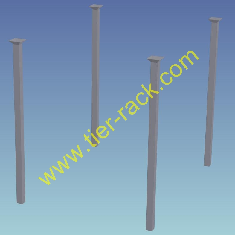 Stack rack posts