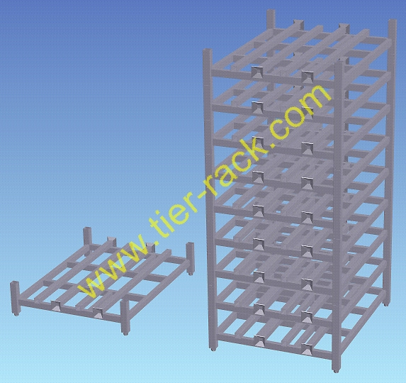 Stackable racks