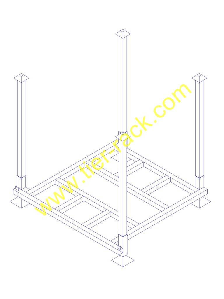 Stackable rack, Nestable rack, Stacking rack