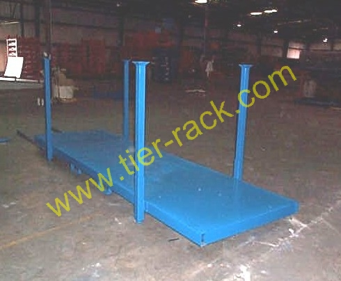 Stack rack, Steel decking, Product containment
