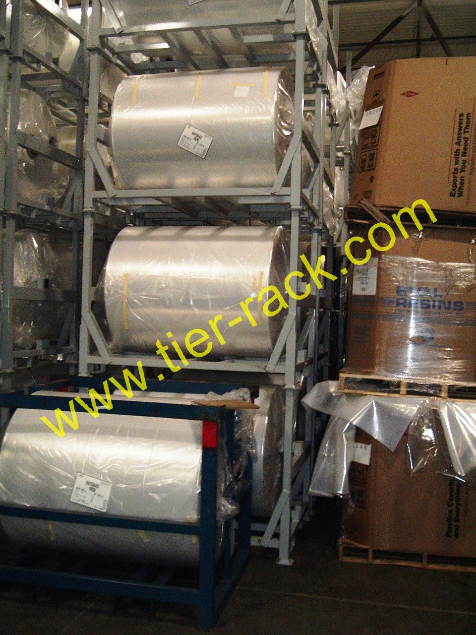 Suspended Roll Racks